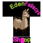 NO EDENFALLACYS SHEEP! I R LLAMA!